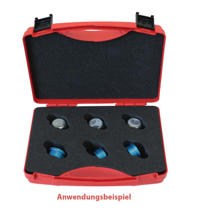 Transportkoffer kogelprisma en magneetbasis