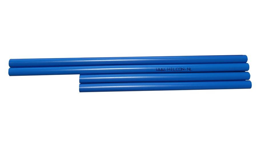Piketbuisjes blauw 31 cm.