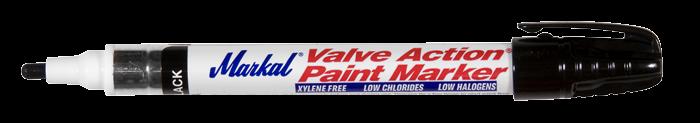 Valve Action Paint Marker zwart