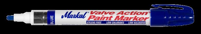Valve Action Paint Marker blauw