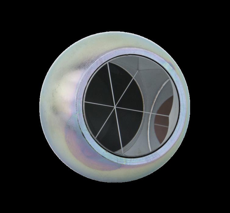 Kogelprisma 38,1 mm. (magnetisch RVS)