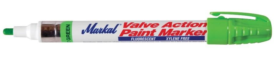 Valve Action Paint Marker Fluorescerend groen