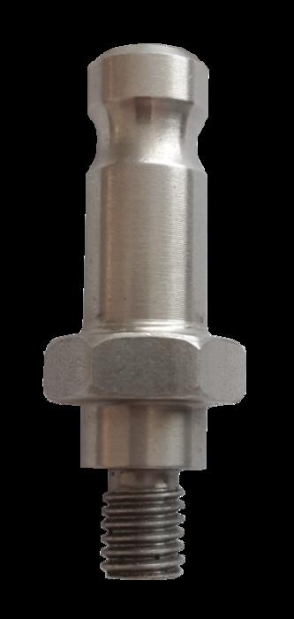 Adapter Prisma met zeskantmoer 40 mm.